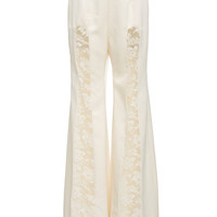 White Wedding Pant | Moda Operandi