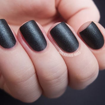 Moonlight Bay Matte Nail Polish from Life's a Beach Collection (Great for Halloween)