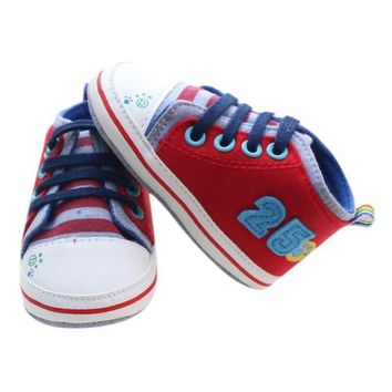 Infantil Baby Boy Shoes First Walkers Cartoon Lace-Up Baby Sneakers boys girls infant toddler First Walker Baby's Shoes