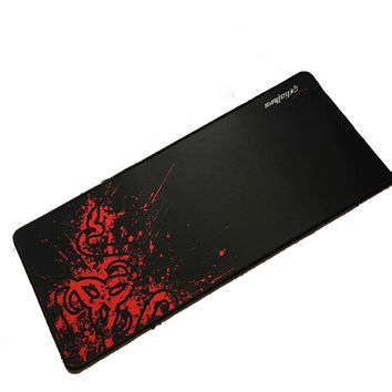 Large Size Red Rubber Razer Goliathus Mantis Speed Gaming Mouse Pad Mats Computer Desk Mouse Mat for Gamer