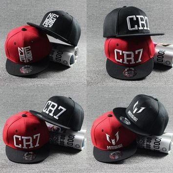 2017 New Fashion Children Ronaldo CR7 Neymar NJR Baseball Cap Hat Boys Girls Kids MESSI Snapback Hats Hip Hop Caps Gorras