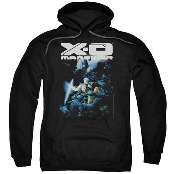 Xo Manowar - By The Sword Adult Pull Over Hoodie