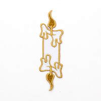 Candle Patch (Gold)