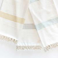 Organic Cotton Hudson Throw
