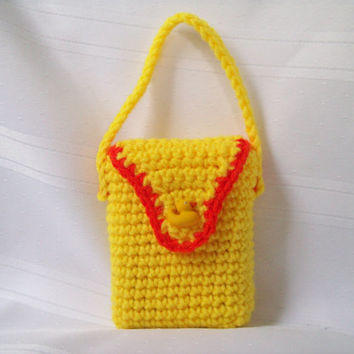 Crochet Purse//Crochet Crayon Purse//Crayon Case// Child's Crochet Purse