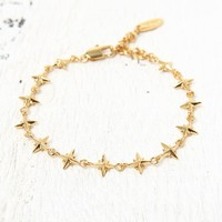 Ettika Star Tennis Bracelet - Womens Jewelry - Gold - One