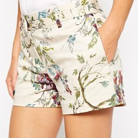 Oasis Botanical Print Co-Ord Short - Multi