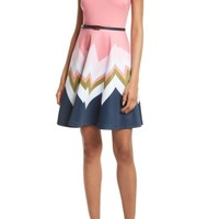 Ted Baker London Aurella Mississippi Skater Dress | Nordstrom