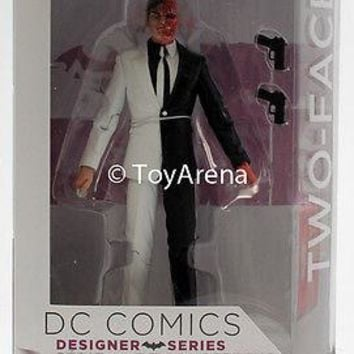 DC Comics Designer Series Greg Capullo Two Face Action Figure US Seller