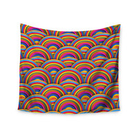 "Danny Ivan ""Rainbows"" Multicolor Wall Tapestry"