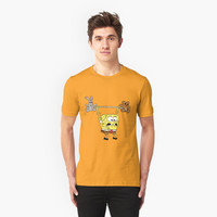 'Sport_Spongebob' T-Shirt by taracmar