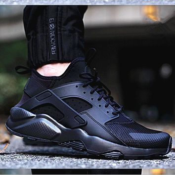 NIKE Huarache Black Hight Top Casual Running Sport Shoes Sneakers G-AA-SDDSL-KHZHXMKH