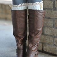 Studded Boots- Brown