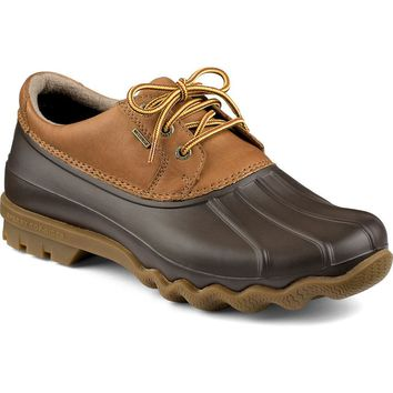 Men's Avenue 3-Eye Duck Shoe in Tan and Brown by Sperry