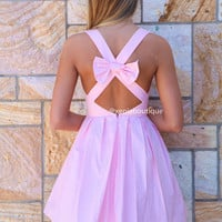 PRE ORDER - BLESSED ANGEL DRESS (Expected Delivery 31st March, 2014) , DRESSES, TOPS, BOTTOMS, JACKETS & JUMPERS, ACCESSORIES, 50% OFF SALE, PRE ORDER, NEW ARRIVALS, PLAYSUIT, COLOUR, GIFT VOUCHER,,Pink,CUT OUT,BACKLESS Australia, Queensland, Brisbane
