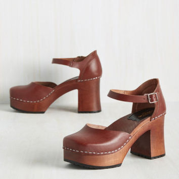 Swedish Hasbeens Pick and Shoes Heel | Mod Retro Vintage Heels | ModCloth.com