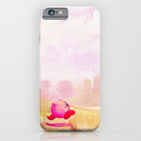 KIRBY iPhone & iPod Case by Ylenia Pizzetti