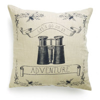 ModCloth Travel Route of Focus Pillow