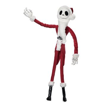 Disney The Nightmare Before Jack Skellington Sandy Claws Medium Plush New w Tags
