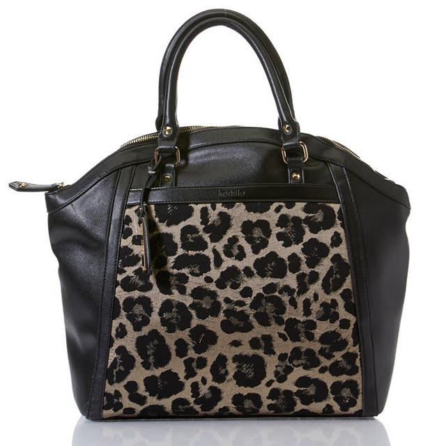 Burlington Coat Factory Home Decor: Mixed Media Animal Print Satchel From Burlington Coat Factory