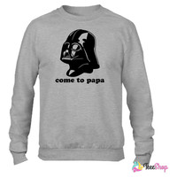 Darth Vader Star Wars Funny_ Crewneck sweatshirtt
