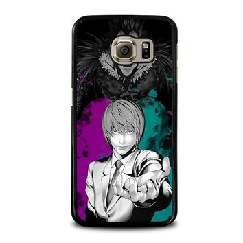 light and ryuk death note samsung galaxy s6 case cover  number 1