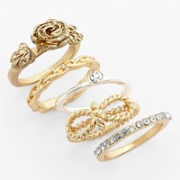 Statements by DCK Stackable Rings (Set of 5) (Juniors) | Nordstrom