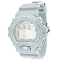 Pale White G-shock Watch Dw-6900SG-2DR custom plate