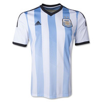 Argentina Jersey Home Youth And Adult 2014