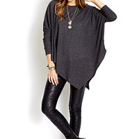 Modernist Asymmetrical Dolman Top