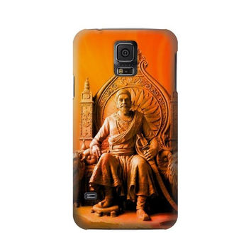 P1104 Shivaji Maharaj Comes Marathas Case Cover For Samsung Galaxy S5