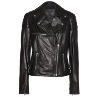 mcq alexander mcqueen - leather jacket