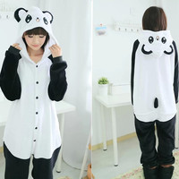 New Adult  Pajama Adult Unisex Animal Pyjamas Onesuits Cartoon Cosplay Sleepwear Pajamas bear panda