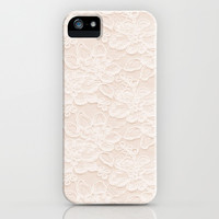 Lace Love iPhone & iPod Case by Pink Berry Pattern