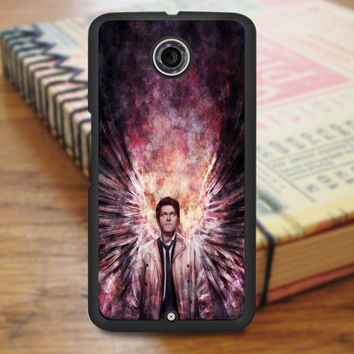 Supernatural Galaxy Art Horror Nexus 6 Case