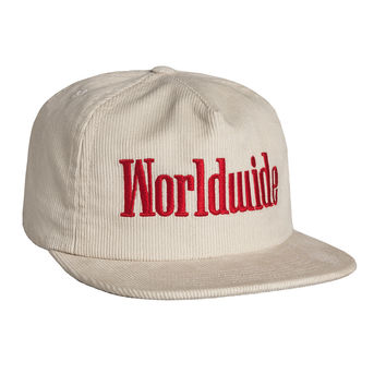 HUF - WORLDWIDE SNAPBACK // WHITE