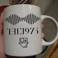 Arctic Monkeys the 1975 The Neighbourhood mug design