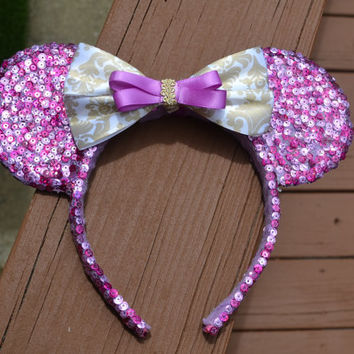 TANGLED Inspired Minnie Ears - Rapunzel