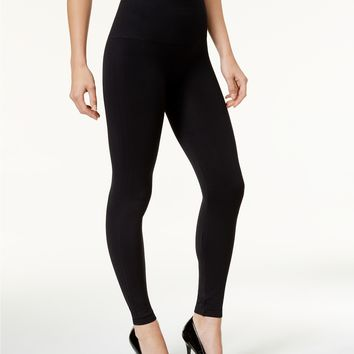 SPANX Women's Look At Me Now Tummy Control Leggings Handbags & Accessories - Macy's