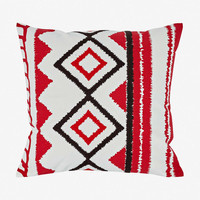Helge Crewel Embroidery Pillow Cover