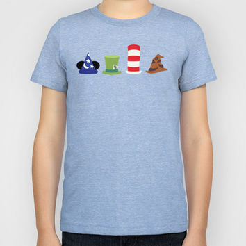 Magic in a Hat Kids T-Shirt by Page394