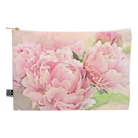 Pink Peonies Large Pouch