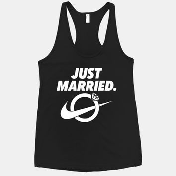 Just Married (Nike Parody)
