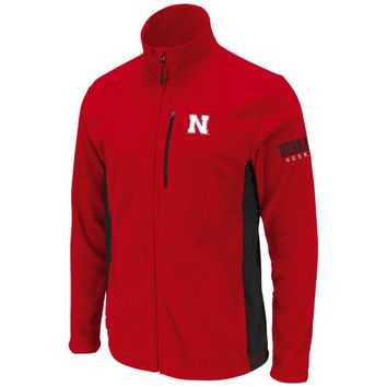 Nebraska Cornhuskers Youth Alpine Full Zip Jacket - Scarlet - http://www.shareasale.com/m-pr.cfm?merchantID=7124&userID=1042934&productID=524886361 / Nebraska Cornhuskers