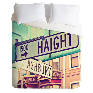 Shannon Clark Haight Ashbury Duvet Cover