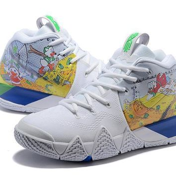 Nike Kyrie 4 Iv Sneaker Donald Duck Club