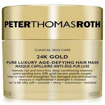 PETER THOMAS ROTH 24K Gold Pure Luxury Age-Defying Hair Mask & Bonnet System