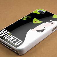 Wicked Broadway The Wizard Of Oz New Design case for iPhone 4/4s, iPhone 5/5S/5C, Samsung S3 i9300, Samsung S4 i9500