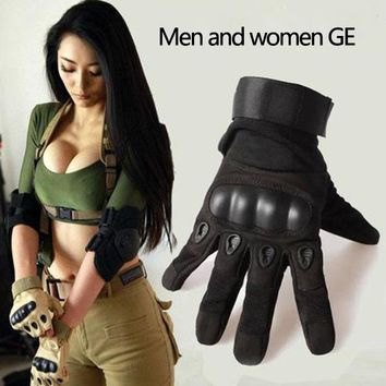 men and women slip resistant forces fitness full finger gloves long finger Military Tactical Gloves free shipping