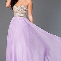 Strapless Sweetheart Madison James Dress